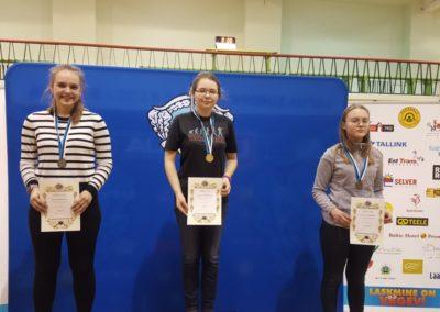Katrin Smirnova, Anastassia Bobõleva ja Anastassia Olewicz