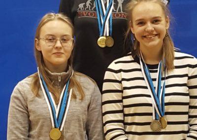 Anastassia Olewicz, Anastassia Bobõleva ja Katrin Smirnova