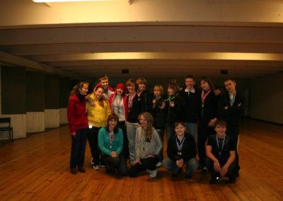 Noorte B-klassi esivõistlused, 22.-23.11.08 Põlva