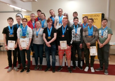 Eesti noorte MV, 12.-13.05.18 Männiku